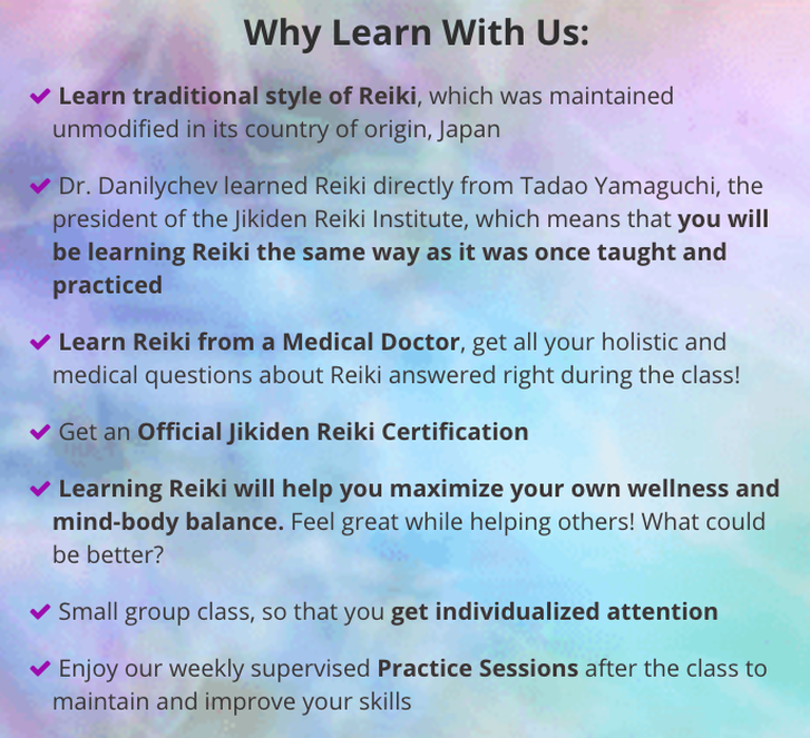 Learn Original Reiki from a Medical Doctor - 858-333-5988 - San ...